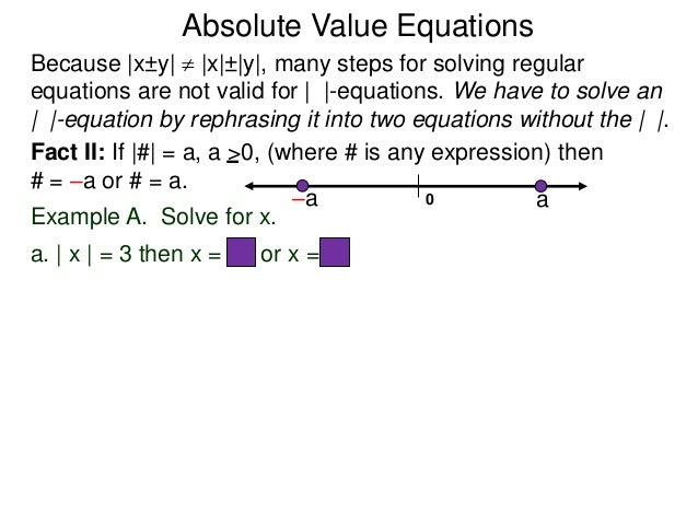 Compare Absolute Value - Lesson 3.6 - YouTube