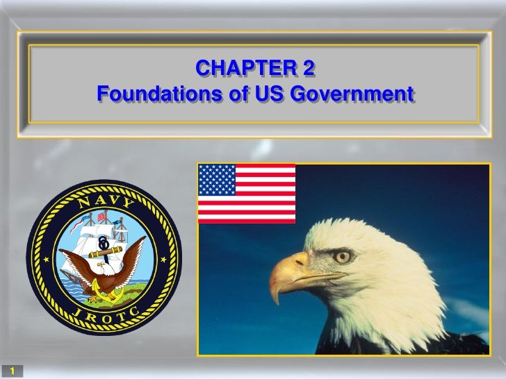 CHAPTER 2     Foundations of US Government     1