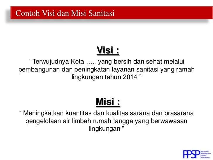 Perumusan Visi Misi Sanitasi Kabupaten Kota