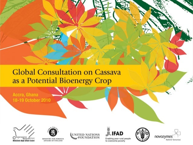 Research efforts to increase cassava productivity in Sub-Saharan Africa Outline • Cassava production and use in Nigeria • ...