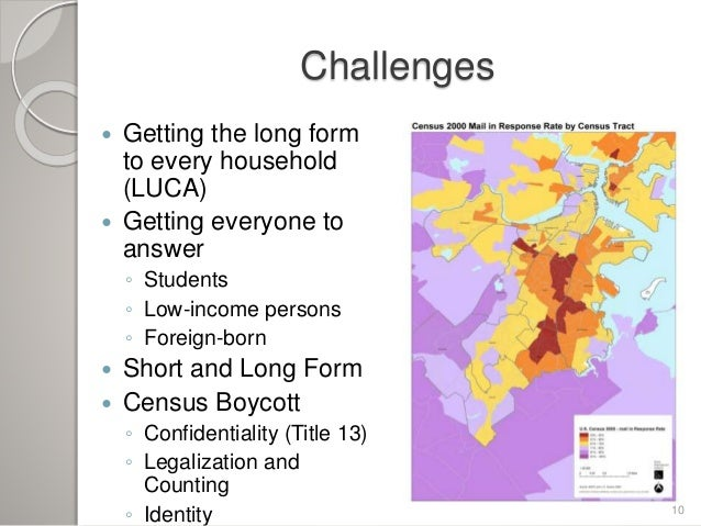 2010 census why it matters and what it means for boston for Census bureau title 13