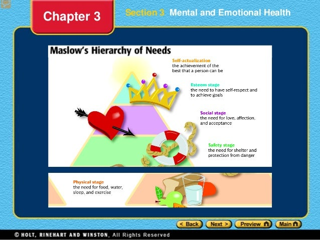 mental health section 3