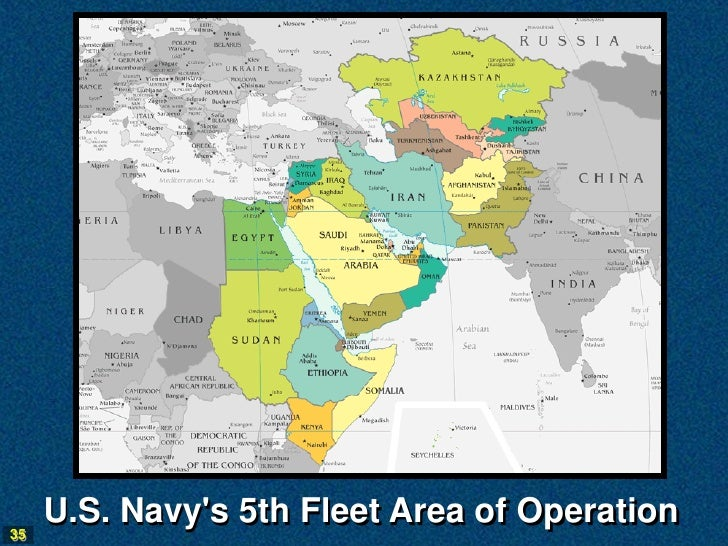 NS National Defense - Map of us navy 5th fleet area of responsibillity