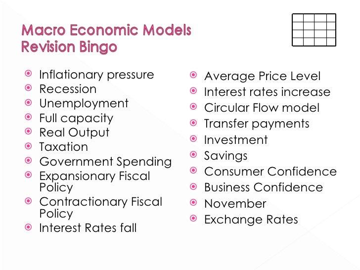 Economic stabilizer