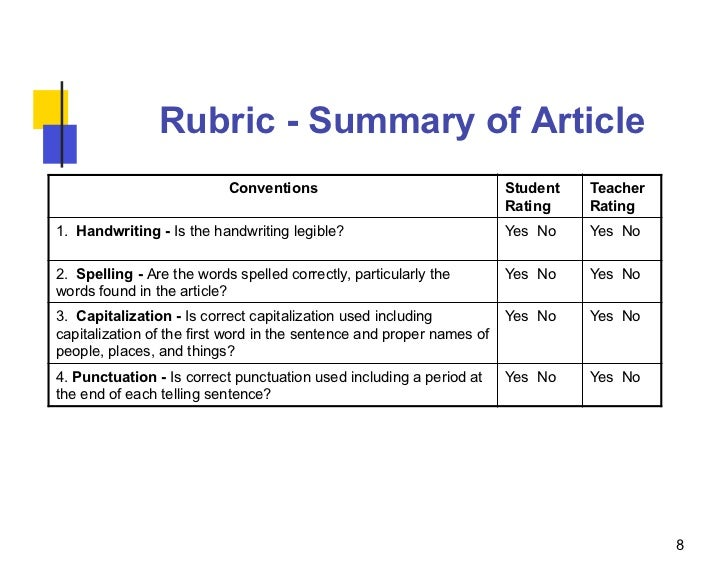 rubric gallery
