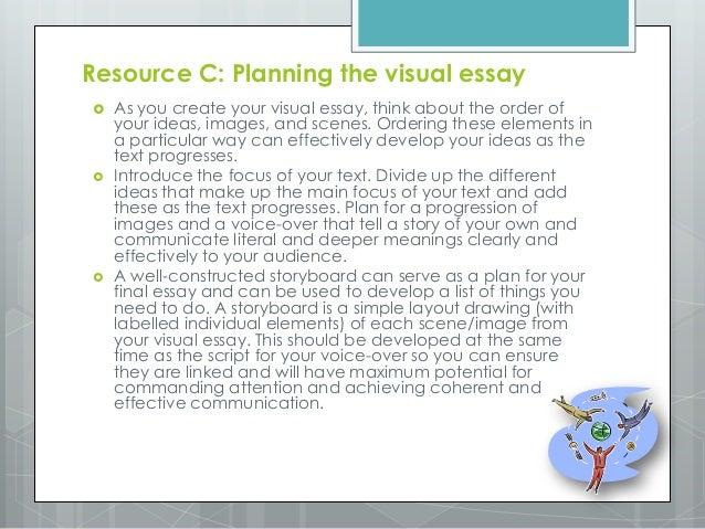 Visual communication essay