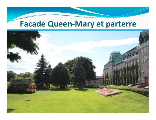 FacadeQueen‐Maryetparterre