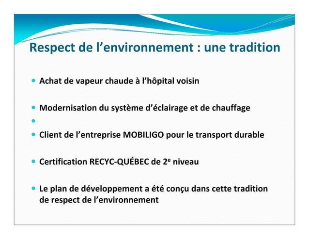 Aujourd'hui,leCollègeNotre‐Dame…Uneécolesecondaireprivée,mixte,francophoneetlaïqueUnOSBL(organismesansbut...