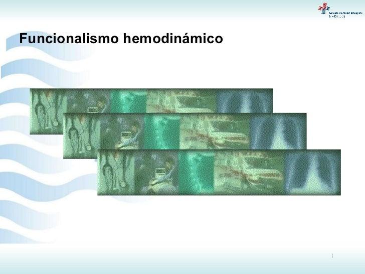 Funcionalismo hemodinámico