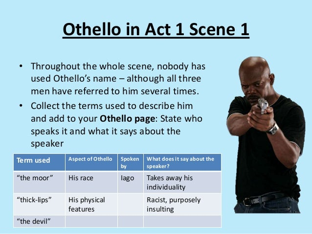 an overview of othello act v scene ii After othello has slain desdemona, emilia, iago's wife, denounces the murder, and exposes her husband's treachery.