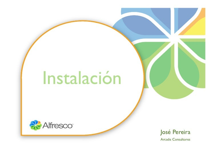 Instalación              José Pereira              Arcade Consultores