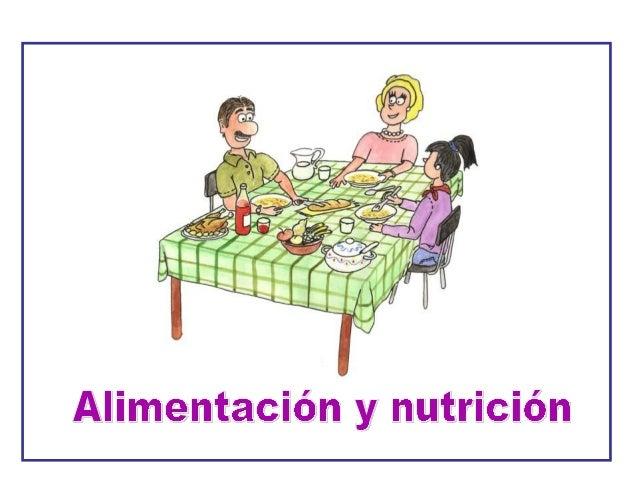 1       ¿Qué es la alimentación?Como ya sabes, todos los seres vivos necesitan tomarnutrientes del medio que los rodea par...