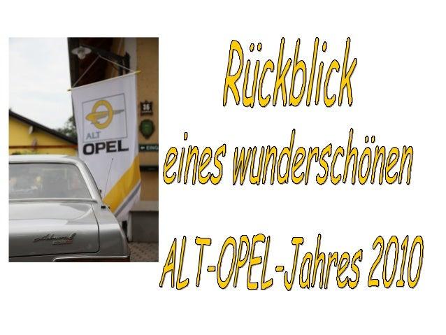 Treffen, Ausfahrten und Teilemärkte • 13. Februar 2010 1. OÖ Stammtisch • 6. März 2010 Teilemarkt Rüsselheim • 13. März 20...