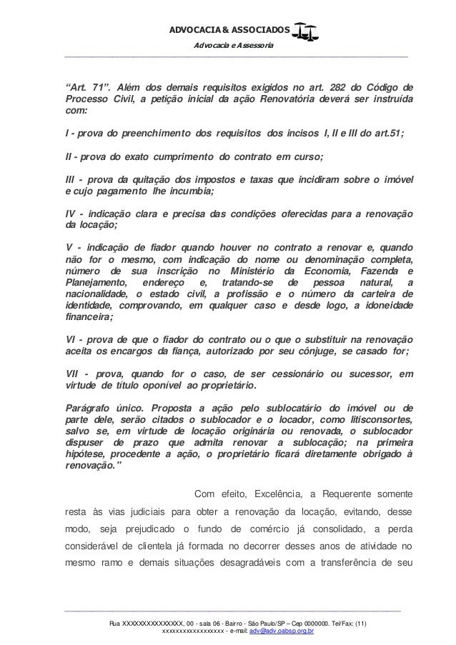 Artigo 282 cc