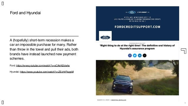 10 Ford and Hyundai A (hopefully) short-term recession makes a car an impossible purchase for many. Rather than throw in t...
