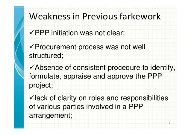 Policy & Strategy for PPP in Bangladesh