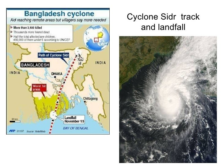 cyclone sidr bangladesh 2007 case study