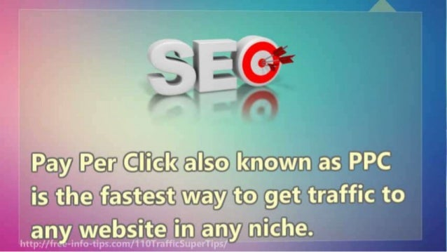 Pay Petr Cilitclfc alsfo I[<«maw. in as PPC is time iias-test way to get traffic to an weiosite in any iriiciie.   lit-: p...