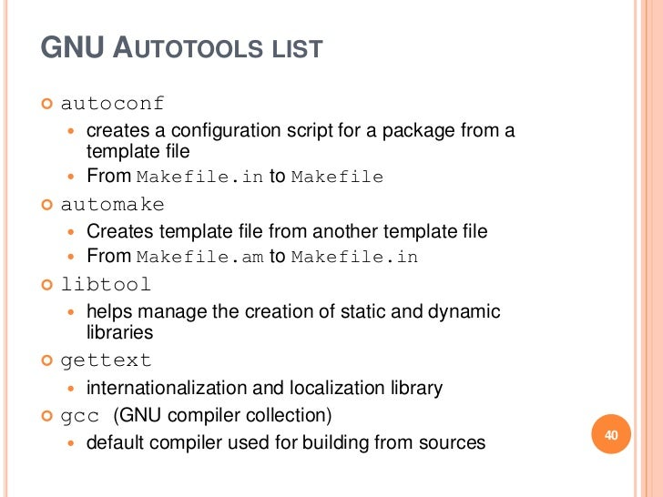 gnu autoconf automake and libtool pdf
