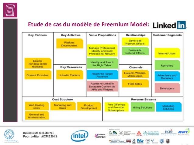 Business Model(Externe)Pour twitter :#ICME2013Connexion du plate-formeLa logique économique: Reliant deux ou plusieurs gro...