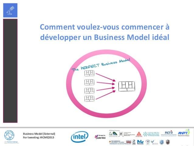 Business Model(Externe)Pour twitter :#ICME2013Identifiez votre proposition de valeur unique1. Quels sont vos clients cible...