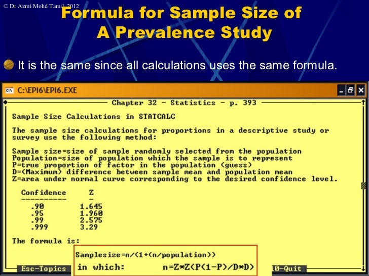 How to determine the Sample Size? - YouTube