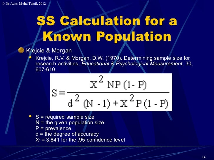 Krejcie And Morgan Sample Size Table Krejcie Morgan Sample Size Table Dekstop Cross Sectional