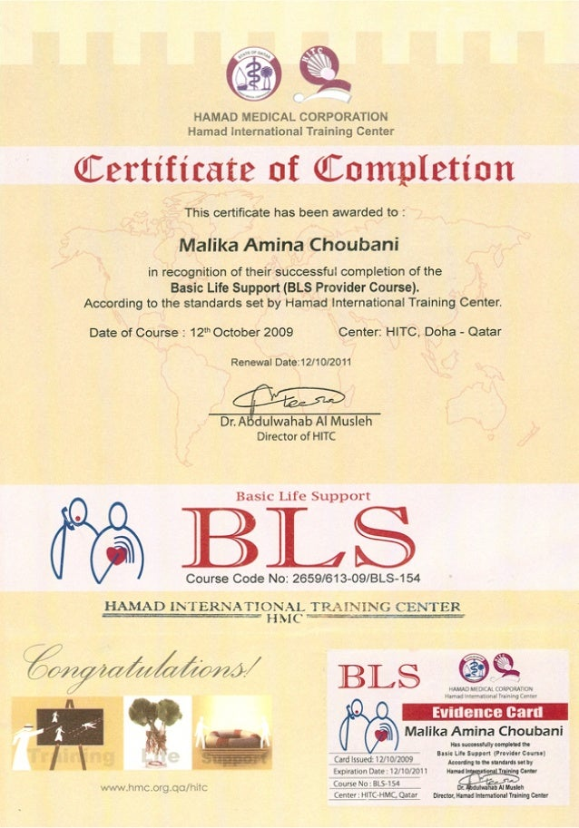 Exelent Bls Certification Expiration Ornament Certificate Design