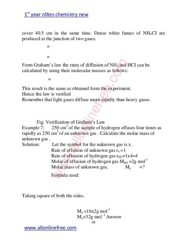 diffusion of gases lab answers