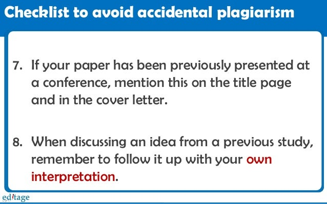 Find out if your paper is original