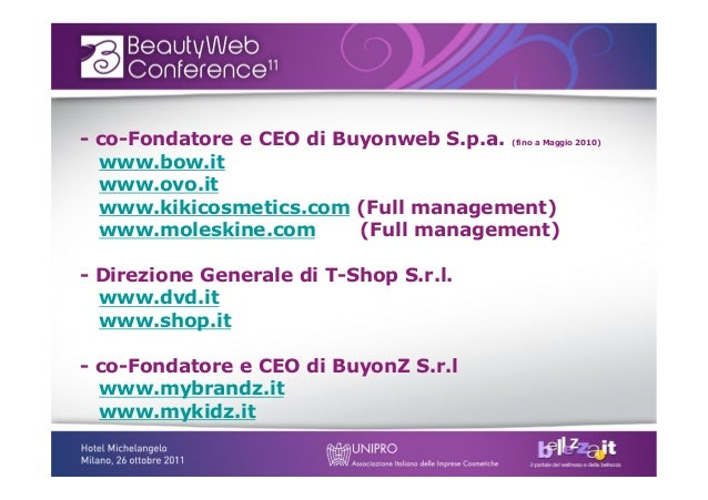 E-commerce: le chiavi del successo Slide 2