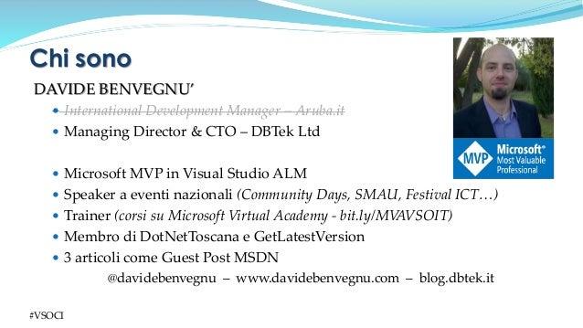 Continuous Integration con Visual Studio Online Slide 3