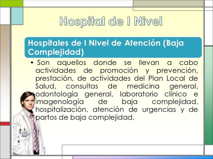 clasificaci n de los hospitales