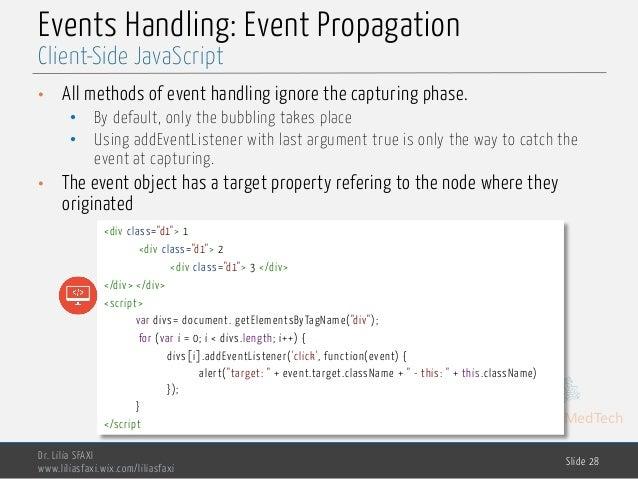 Client Side Javascript