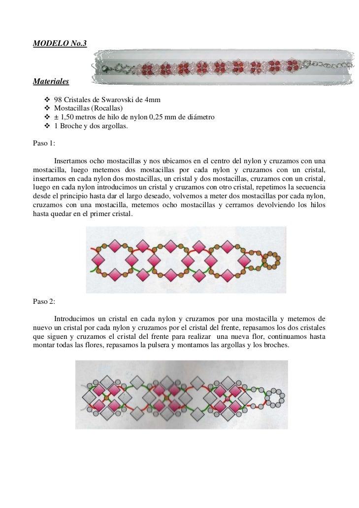 646f06095a44 CURSO DE BISUTERÍA - PULSERAS