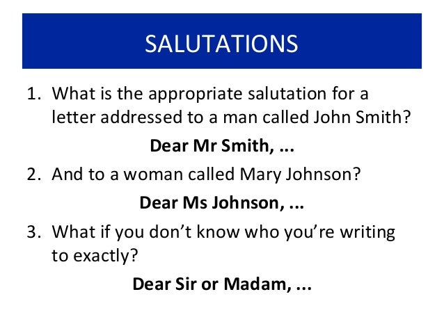 """gender neutral salutation cover letter If you are able to confirm the information, address a male as """"mr"""" and a female as """"ms"""" in your cover letter, both in the inside address and the salutation dodge the issue of gender in the inside address by simply using the full name of the recipient, followed by the person's title."""
