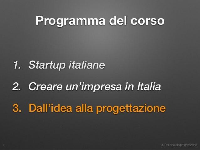 Dall 39 idea alla progettazione vers 2015 for Programma progettazione