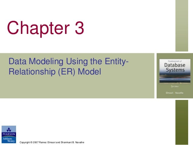 data modelling using entity relationship approach to marketing