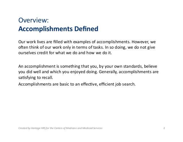 Summary Of Accomplishments Examples Barca Fontanacountryinn Com