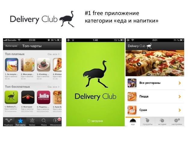#1 free приложение категории «еда и напитки»