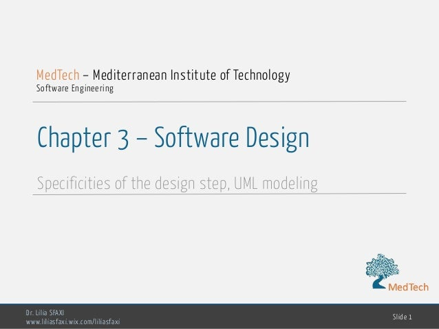 Software Engineering Chp3 Design