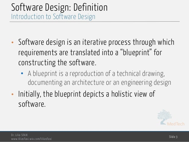 Software engineering chp3 design 3 medtech software design definition malvernweather Choice Image