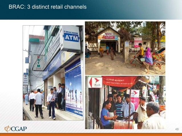 BRAC: 3 distinct retail channels 48