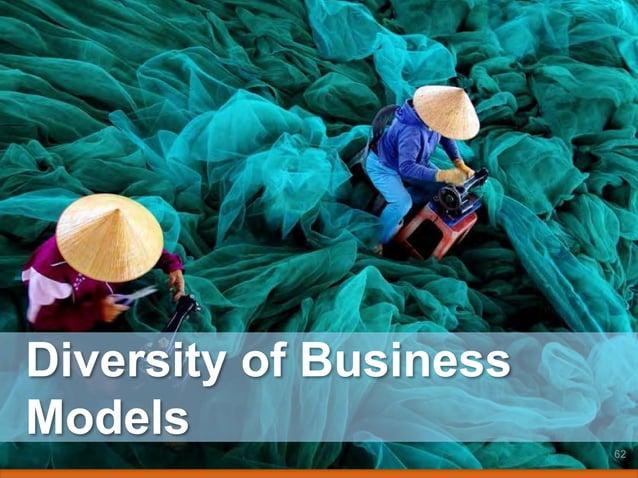 Diversity of Business Models 62