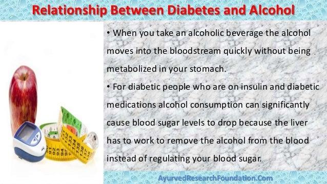 Diabetes und alkoholkonsum