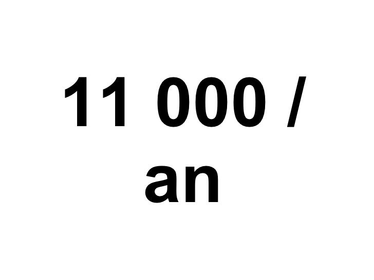 11 000 / an