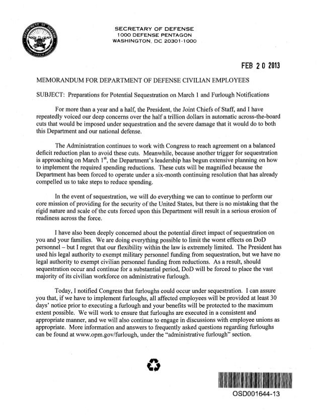 3   dod letter to all civilians