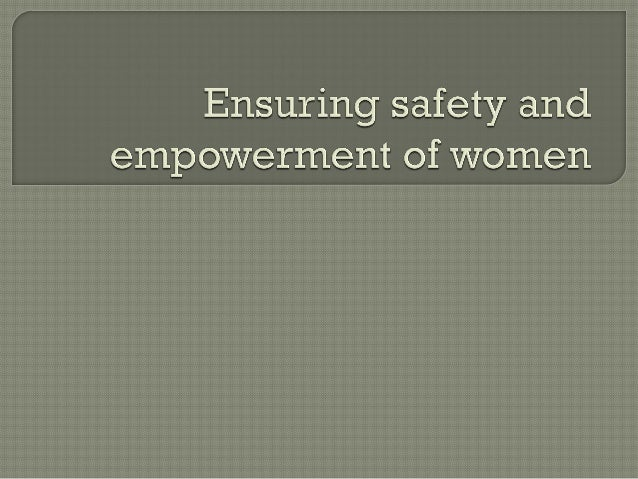 ThisWomen's Day, rather than talking about social and economic empowerment,the focus is on how to make our women feel sa...