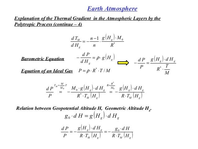 how to use the barometric equation