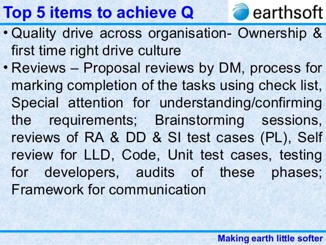 3 Earthsoft Strategic Quality Management In Software Organidation